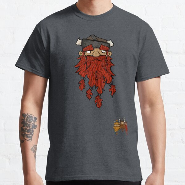Sweet Nordic Red Viking and brothers Classic T-Shirt