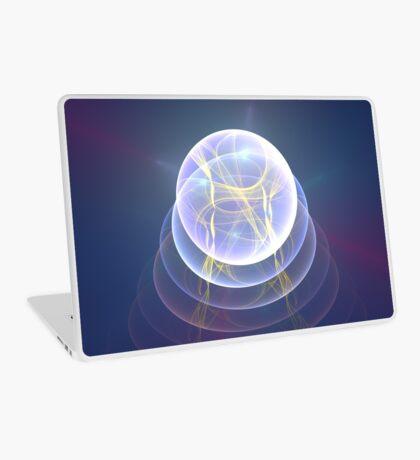 Planet Light #Fractal Art Laptop Skin