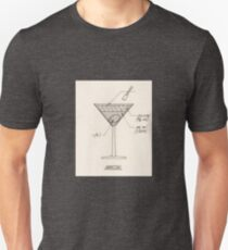 Cocktail Construction Chart - Martini T-Shirt