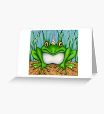 The Loveliest of all was the Froggicorn Greeting Card