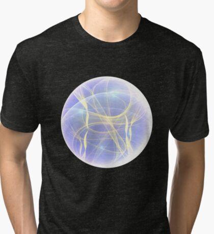 Planet Light #Fractal Art Tri-blend T-Shirt