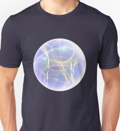 Planet Light #Fractal Art T-Shirt