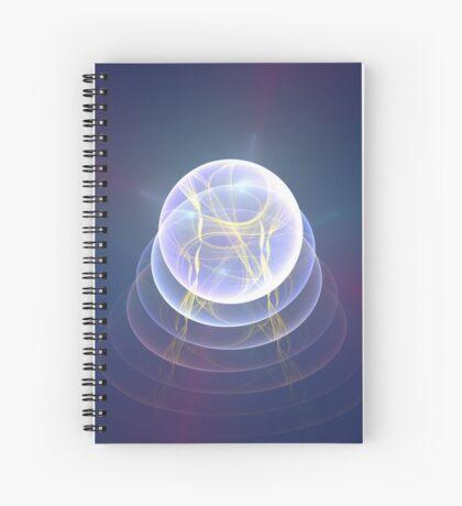 Planet Light #Fractal Art Spiral Notebook