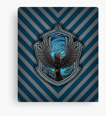 The Witty Raven Canvas Print
