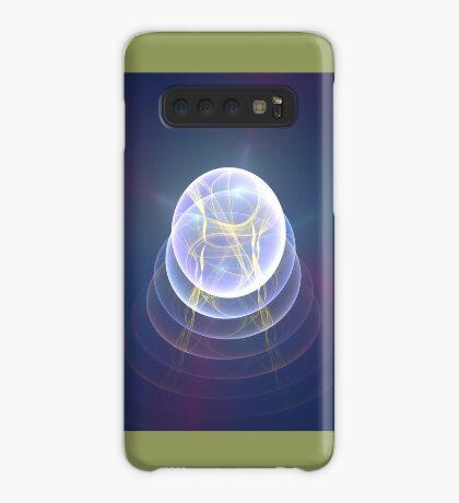 Planet Light #Fractal Art Case/Skin for Samsung Galaxy