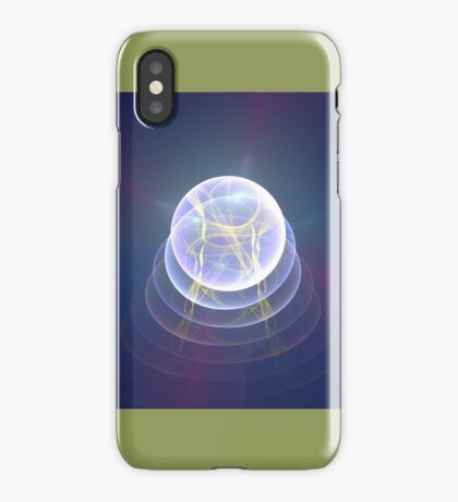 Planet Light #Fractal Art iPhone Case