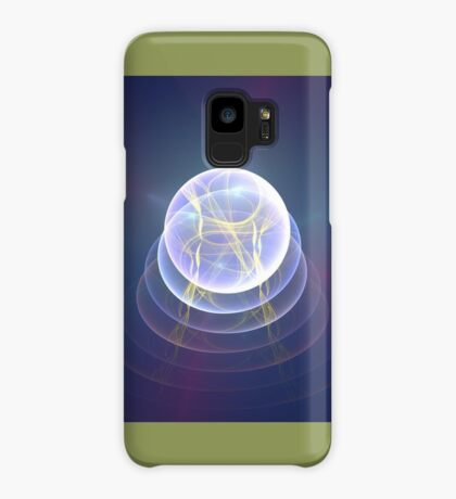 Planet Light #Fractal Art Case/Skin for Samsung Galaxy