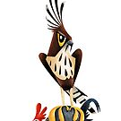 Changeable Hawk Eagle caricature by rohanchak