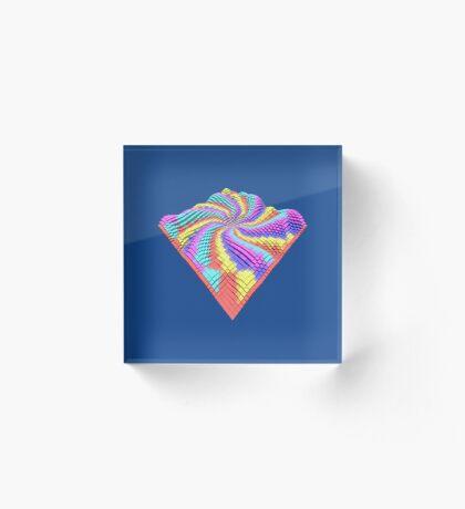 Cube Hero #Fractal Acrylic Block