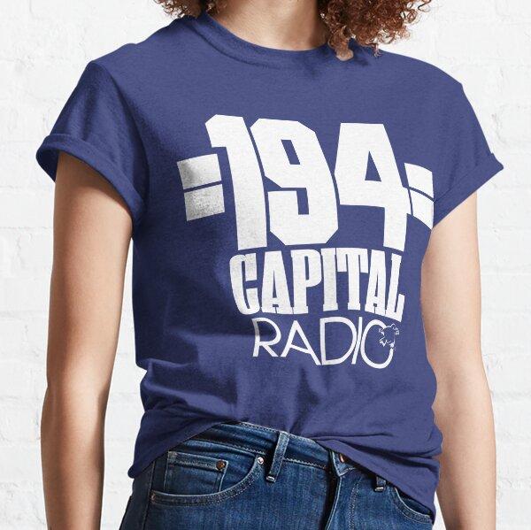 NDVH Capital Radio (1) - white print Classic T-Shirt