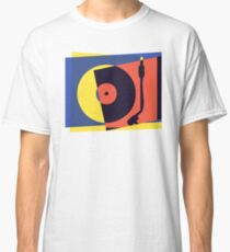 Pop Art Turntable 2 Classic T-Shirt