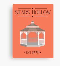Gilmore Girls - Stars Hollow! Canvas Print