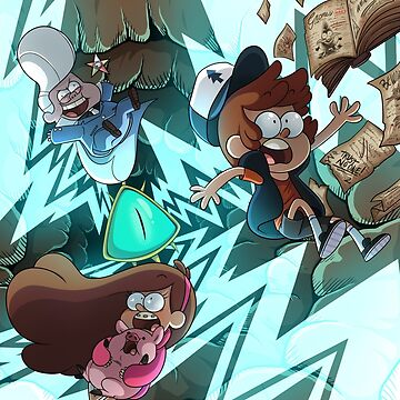 Gravity Falls by JimHiro