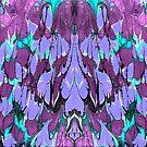 Purple Feathers by Liz Plummer