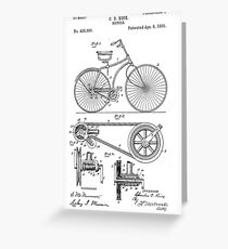 Patent - Bicycle Greeting Card