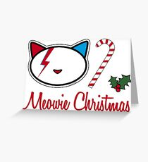 Christmas Meowie 2 Greeting Card