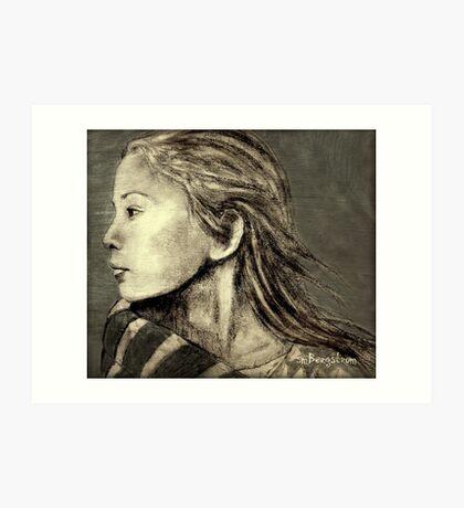 Mariah Drawing Art Print
