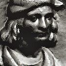 Man with hat by patjila