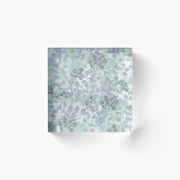 Drifting leaves Acrylic Block
