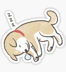 shiba sleep 2 Sticker