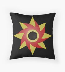 Weeping Emblem (Pain) P/B - Black Throw Pillow