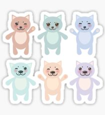 Funny Cats Sticker