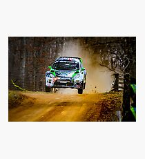 Ken Block Rally Jump Photographic Print