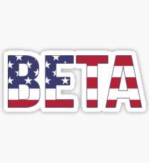 beta american~~~ Sticker