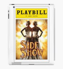 Side Show Playbill iPad Case/Skin