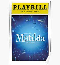Matilda Playbill Poster