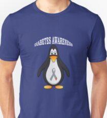 Big Boys Diabetes (Penguin) Youth white Unisex T-Shirt