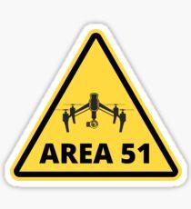 AREA-51 DRONE Sticker