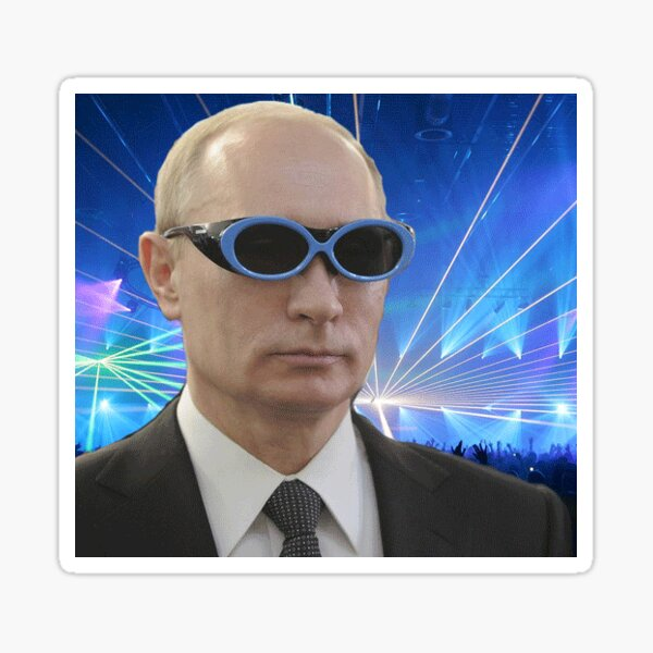 Rave Putin ;) Sticker