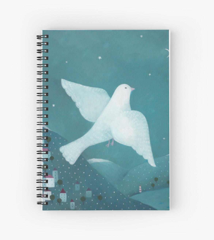 white pigeon by Oksana Tarasova