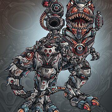 Robot Trex  by jmlfreeman