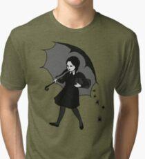 Scary Girl Tri-blend T-Shirt