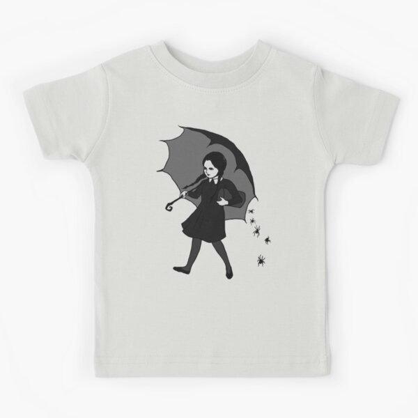 Scary Girl Kids T-Shirt