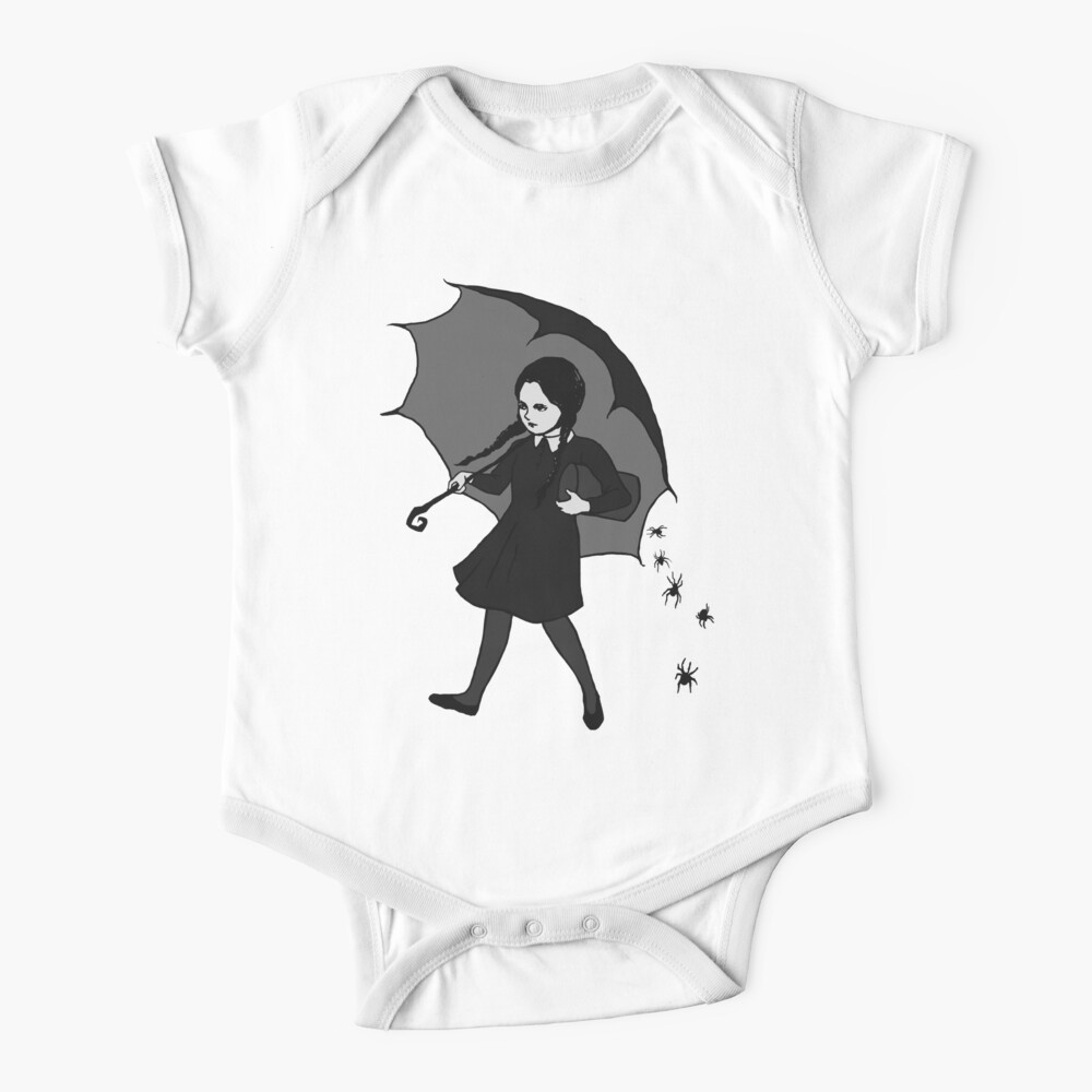Scary Girl Baby One-Piece
