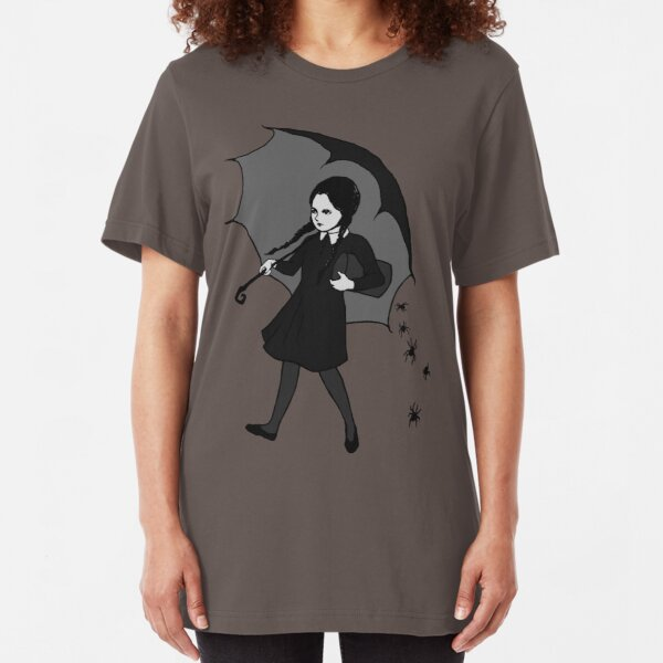 Scary Girl Slim Fit T-Shirt