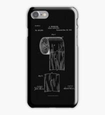 Patent - Toilet Paper (White) iPhone Case/Skin