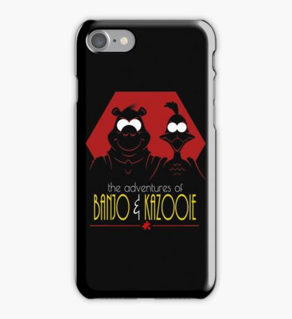 The Adventures of Banjo & Kazooie iPhone Case/Skin