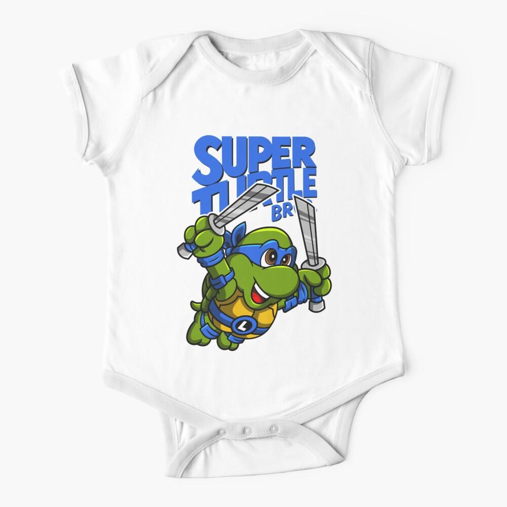 Super Turtle Bros - Leo Baby One-Piece
