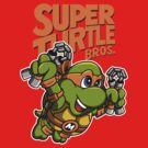 Super Turtle Bros - Mikey by Punksthetic