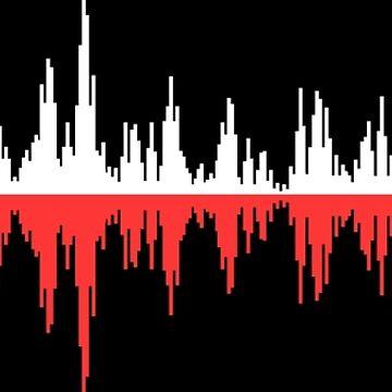Onda de sonido roja by mapeya