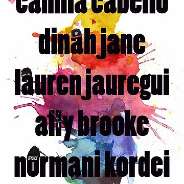 5H nombres Splash! de foreverbands