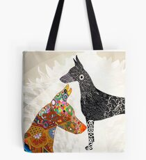 The Magnificence of the Doberman Spirit Tote Bag