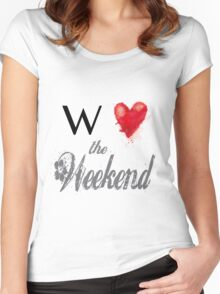 We love the Weekend Women's Fitted Scoop T-Shirt