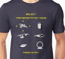 Sci-Fi Transportation Unisex T-Shirt