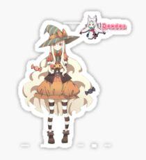Anime Witch Sticker