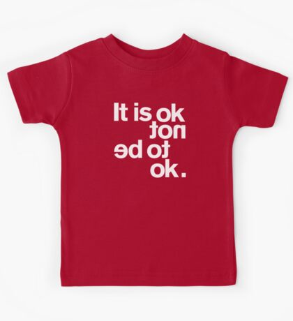 IT IS OK NOT Kids Clothes